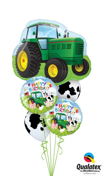 Happy Birthday Tractor - Balloonery