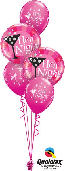 Hens Night Bouquet - Balloonery