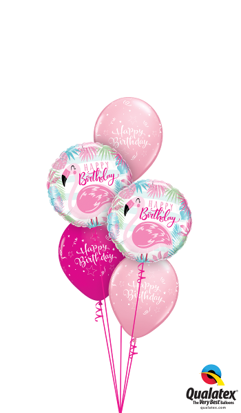 Pink & Wild Berry Flamingo Fun - Balloonery