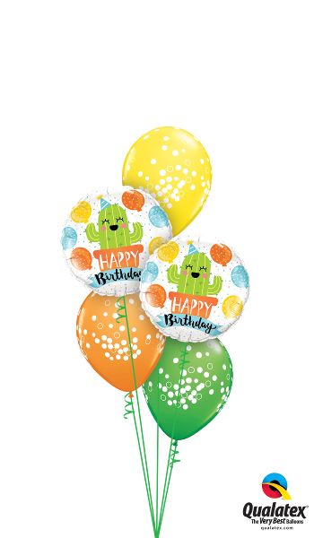 Potted Cactus Birthday Party - Balloonery