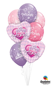 Happy Birthday Princess Bouquet - Balloonery