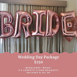 Wedding Day Package - Balloonery
