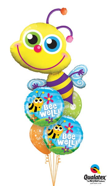 Get Well Giant Bee - Balloonery