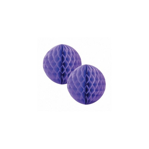 Paper Party Honeycomb Lilac 15cm (2pk) - Balloonery