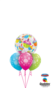 Colourful Cupcakes - Balloonery