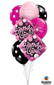 Birthday Girl Bouquet - Balloonery