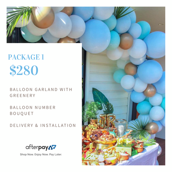 Package 1 - Balloonery