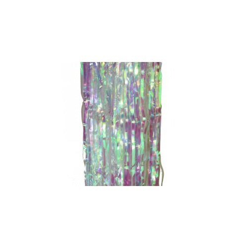 Metallic Curtain Iridescent - Balloonery