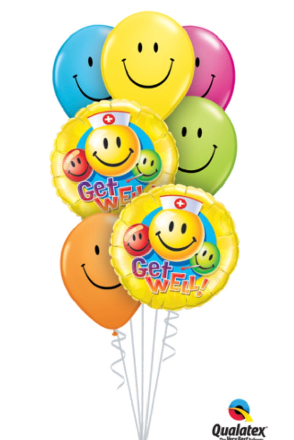 Get Well Bouquet - Balloonery