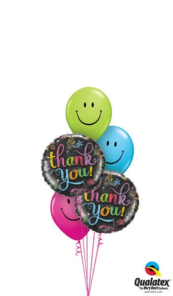 Thank You! Smileys - Balloonery