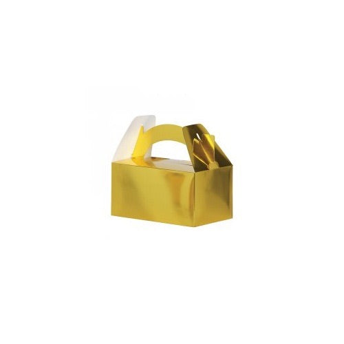Paper Party Lunch Box Metallic Gold - Balloonery