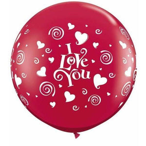 I Love You Hearts - Balloonery