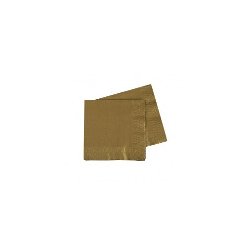 Metallic Cocktail Napkins 20pk - Balloonery