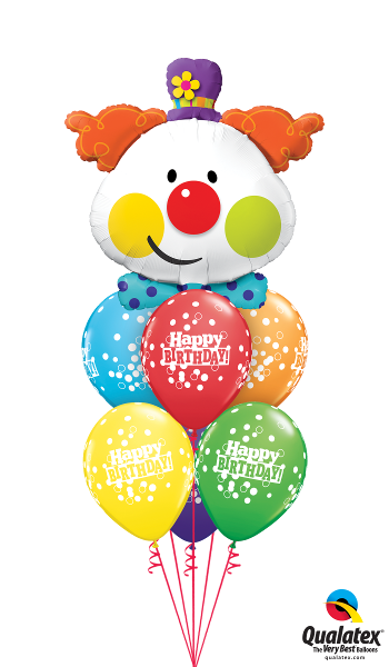 Happy Birthday Clown - Balloonery