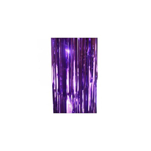 Metallic Curtain Purple - Balloonery