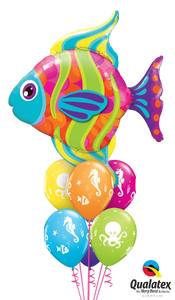 Fun Colorful Fish - Balloonery