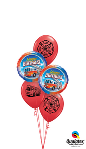Happy Birthday Fireman - Balloonery