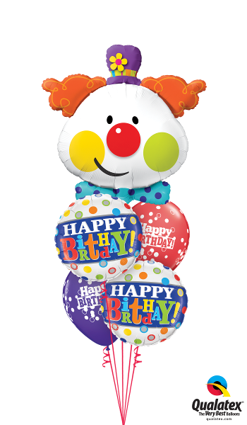 Colorful Clown Birthday - Balloonery