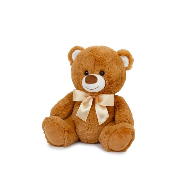 Toby Relay Teddy Baby Brown 25cm