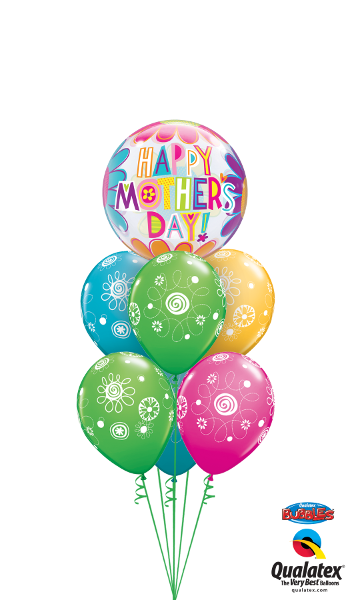 Mother's Day Big Flowers - Balloonery