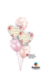 Pearl Pink & Pearl Peach Mother's Day Blossoms - Balloonery