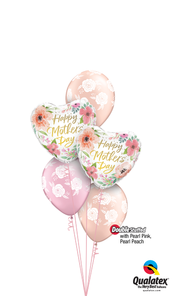 Pearl Pink & Pearl Peach Mother's Day Blossoms SOLD OUT - Balloonery