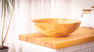 Large Maple Bowl 16 + 9928