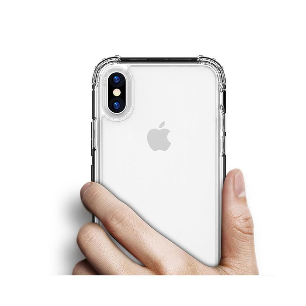 Transparent shockproof iPhone case for iPhone 8 plus