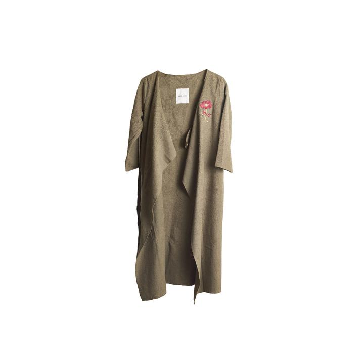 TOWEL COVER UP WOODS IN KHAKI