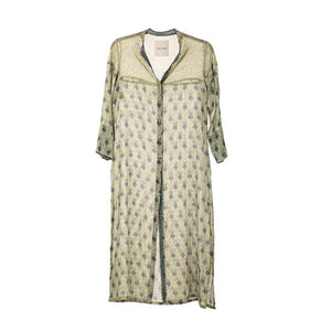 KAFTAN PUNICA IN MINERAL GREEN