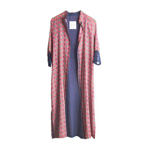 KAFTAN SELJUQ IN VELVET ROSE