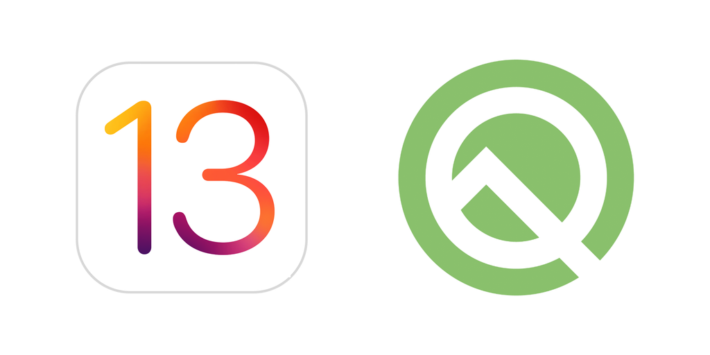 iOS 13 and Android 10
