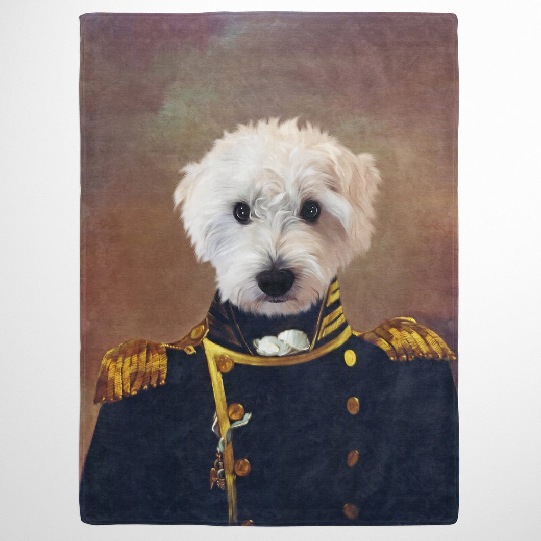 The Admiral - Custom Pet Blanket