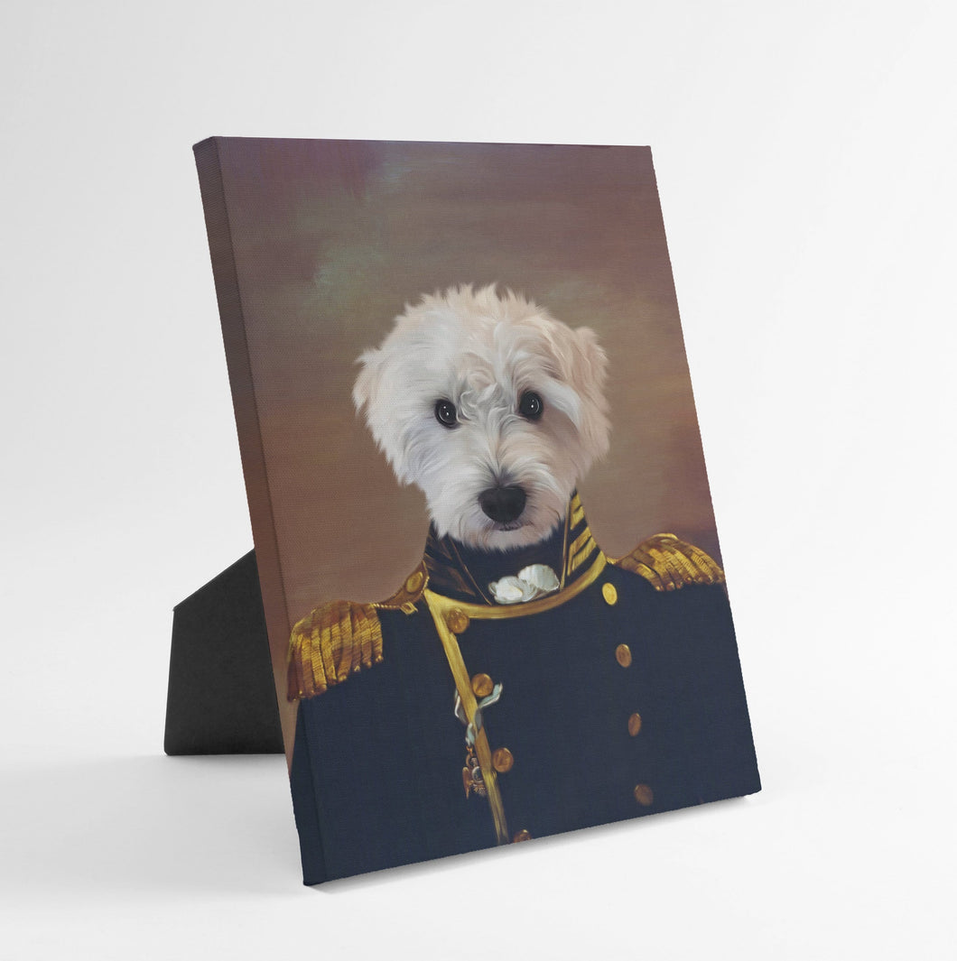 The Admiral - Custom Standing Canvas