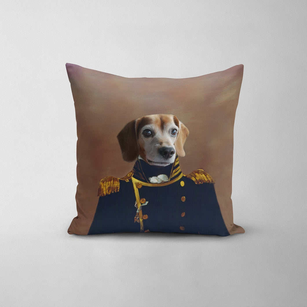 The Admiral - Custom Throw Pillow