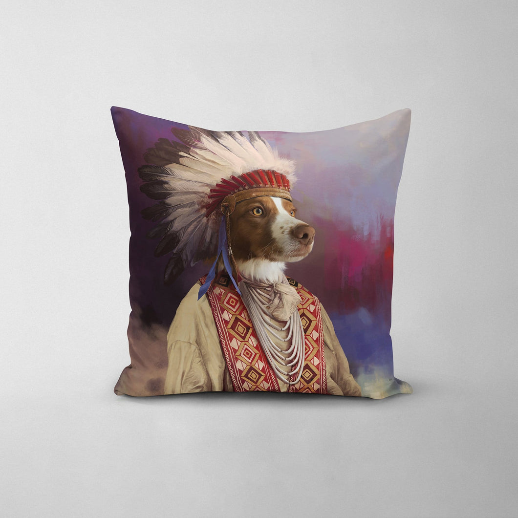 The Chief - Custom Throw Pillow