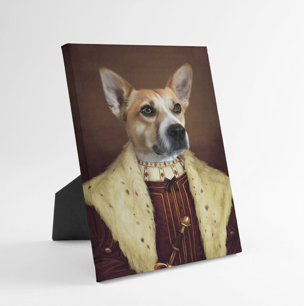 The Young King - Custom Standing Canvas