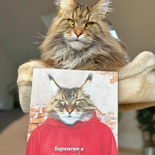 Load image into Gallery viewer, The Hypebeast - Custom Pet Canvas