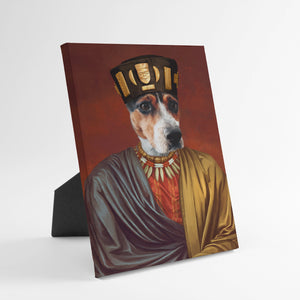 The African King - Custom Standing Canvas
