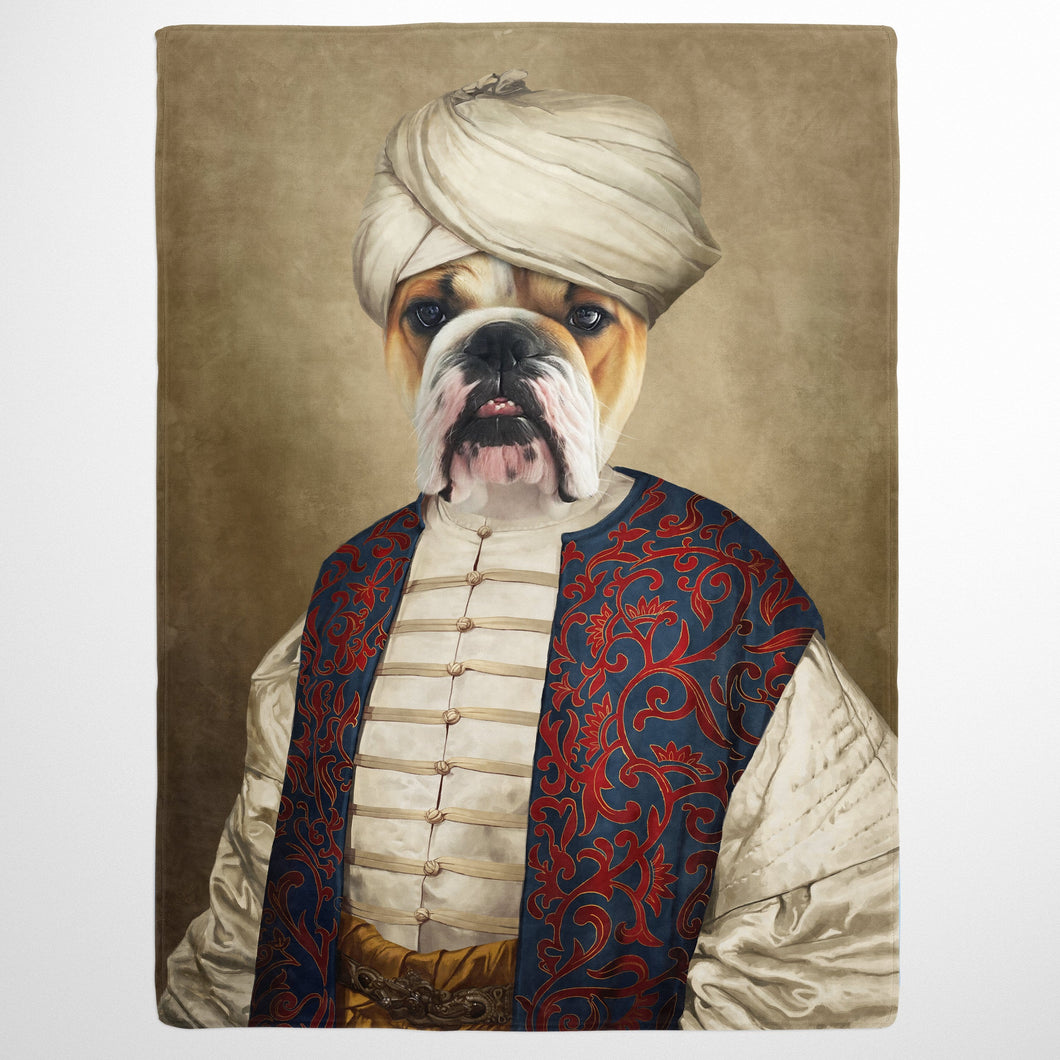 The Sultan - Custom Pet Blanket