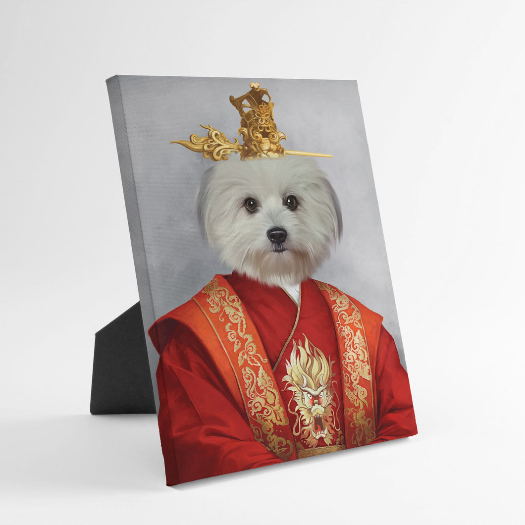 The Asian Emperor - Custom Standing Canvas