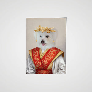 The Asian Empress - Custom Pet Poster