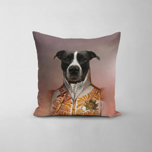 The White General - Custom Throw Pillow