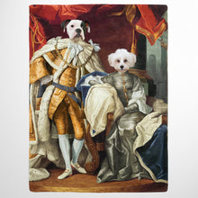 Load image into Gallery viewer, The Royal Couple - Custom Pet Blanket