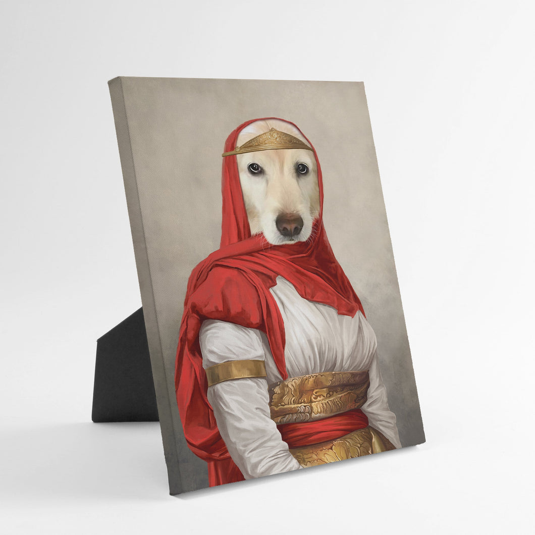 The Persian Princess - Custom Standing Canvas