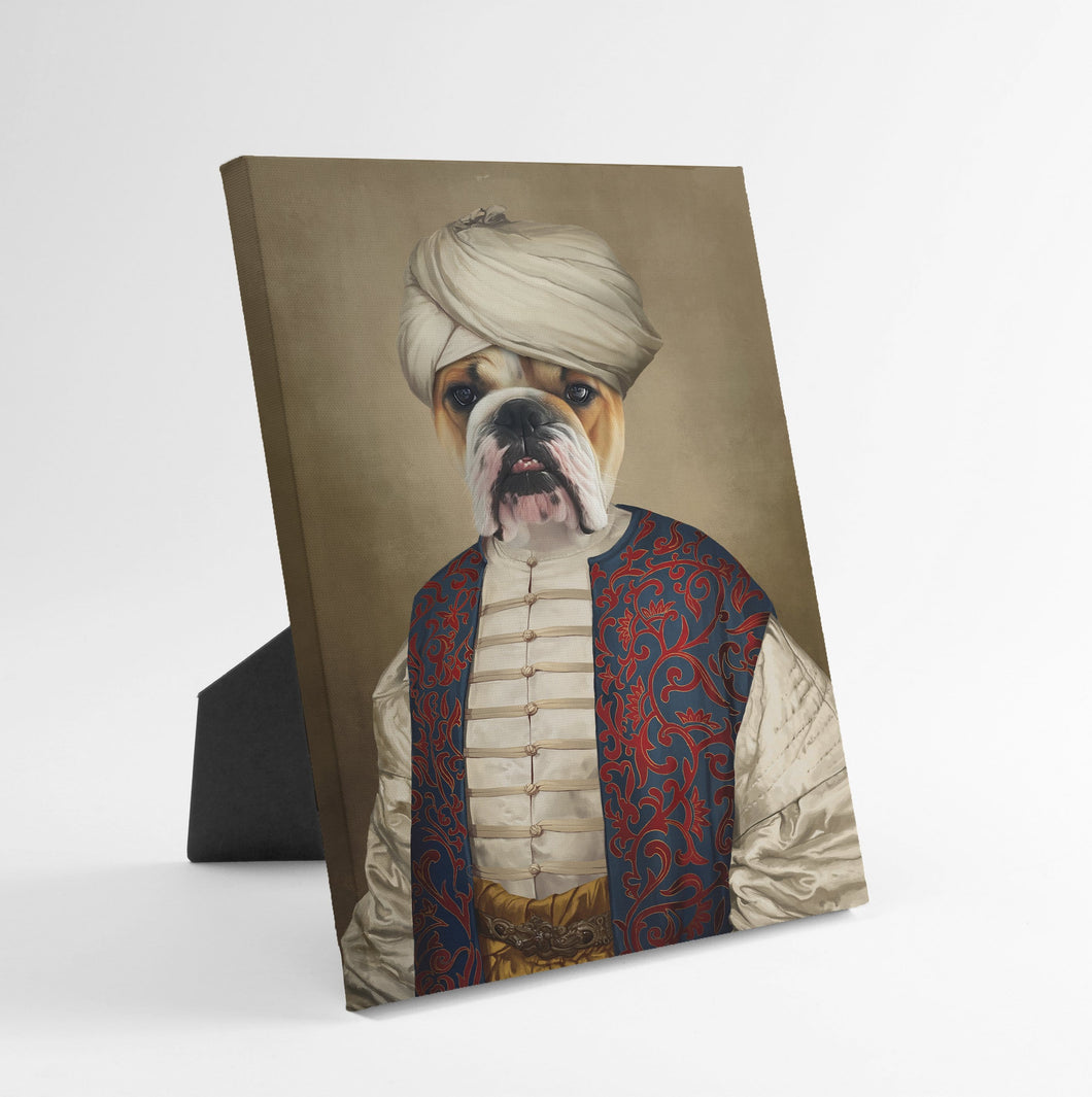 The Sultan - Custom Standing Canvas