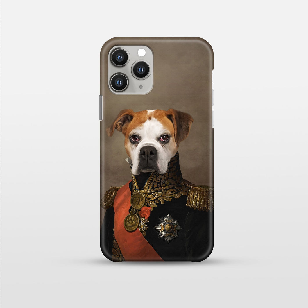 The Major - Pet Art Phone Case