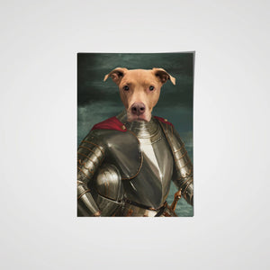 The Royal Knight - Custom Pet Poster