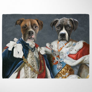 The Rulers - Custom Pet Blanket