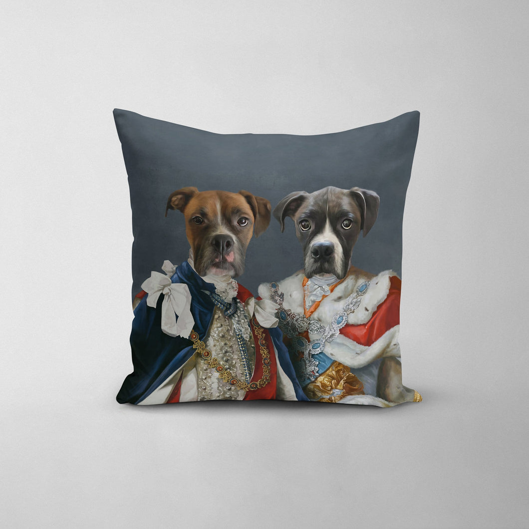The Rulers - Custom Throw Pillow